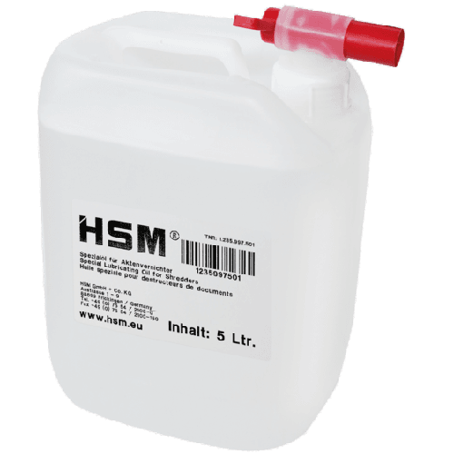 HSM-Special-Lubricating-Oil-5L