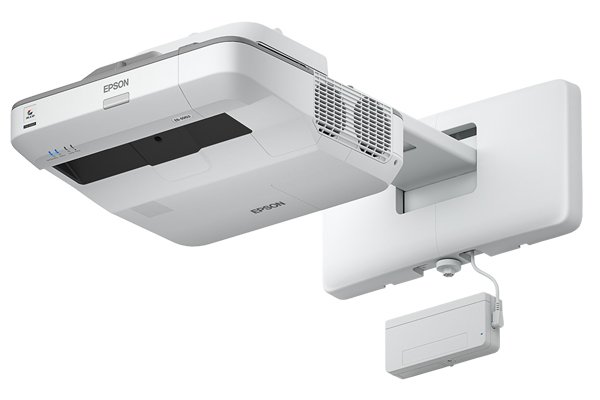 Epson EB-696Ui Finger Touch Projector Side Profile