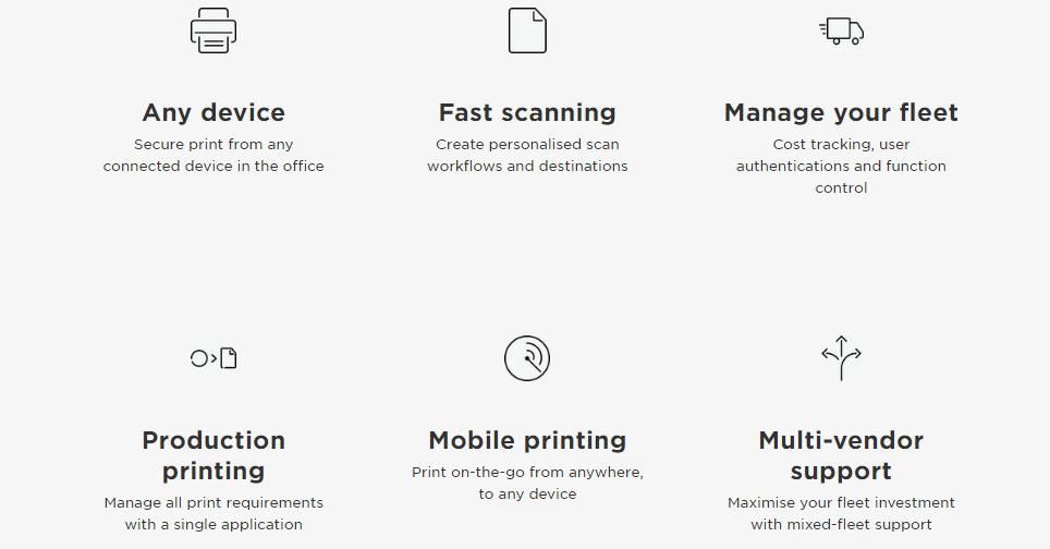 canon uniflow management platform