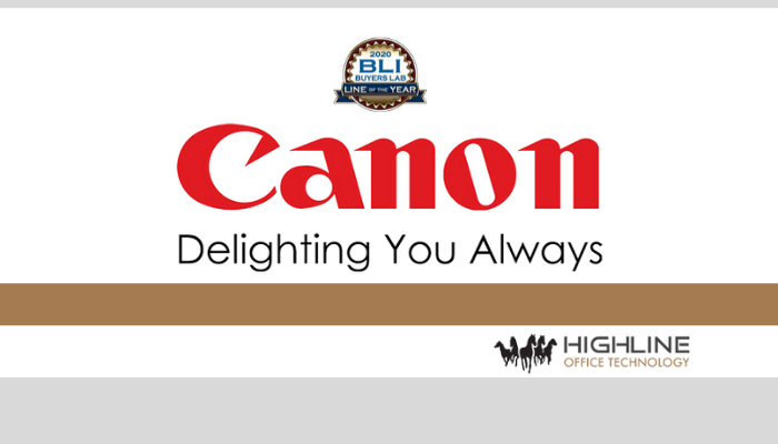 Canon Claims BLI 2020 Copier MFP Line of the Year Award from Keypoint Intelligence